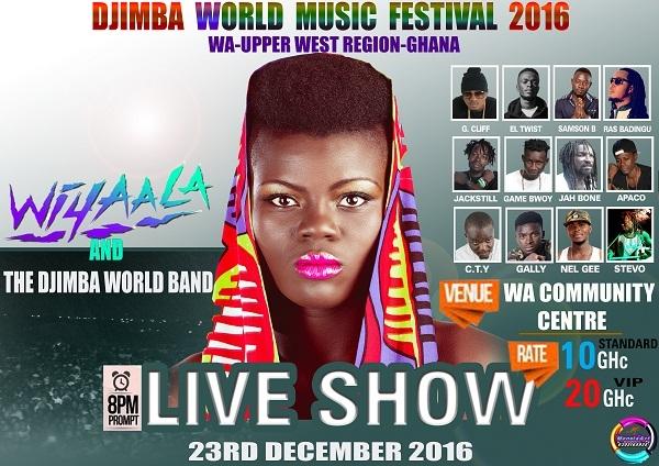 Djimba World Music Festival Announces 2016 Line Up