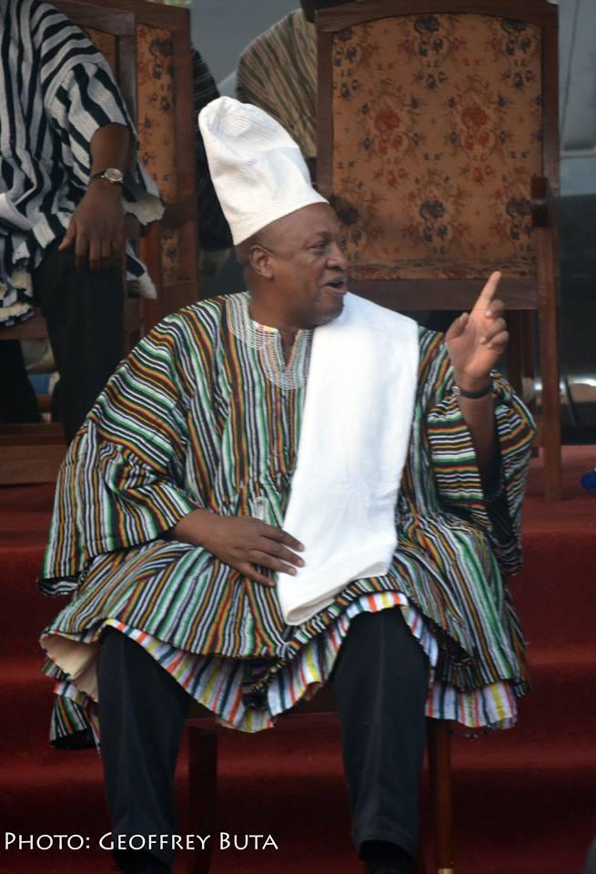Prez Mahama Has Called Nana Akufo Addo to Concede DEFEAT