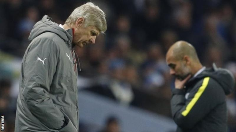 Wenger slams refs after Man City loss: 'The two goals are offside goals'