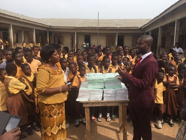 Abbeam Institute Holds Peace Walk and donates to Cluster of Schools