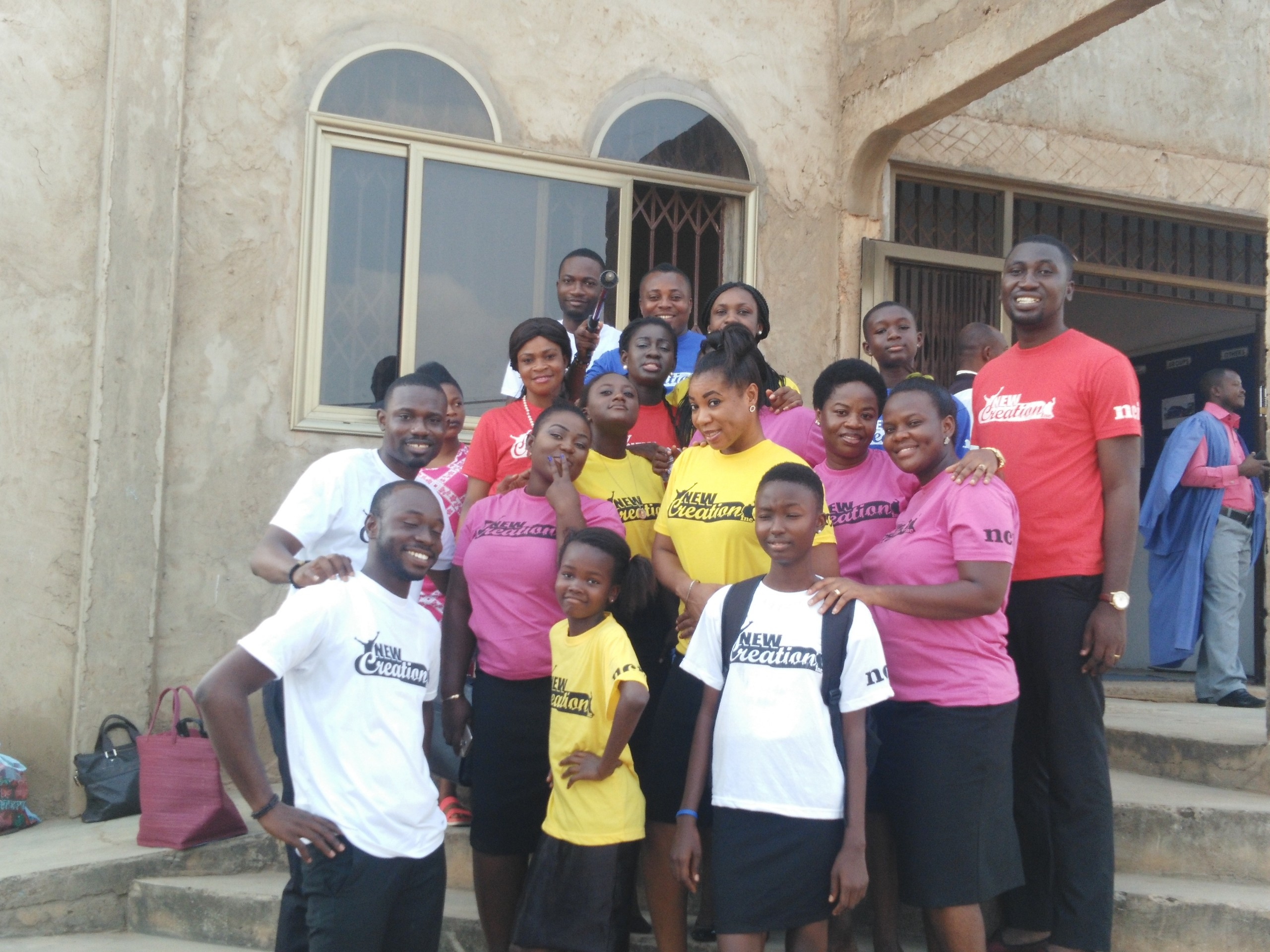 New Creation Incorporated Takes Cantata to Church