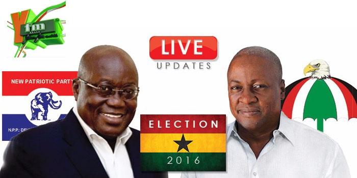 LIVE: Ghana Decides 2016