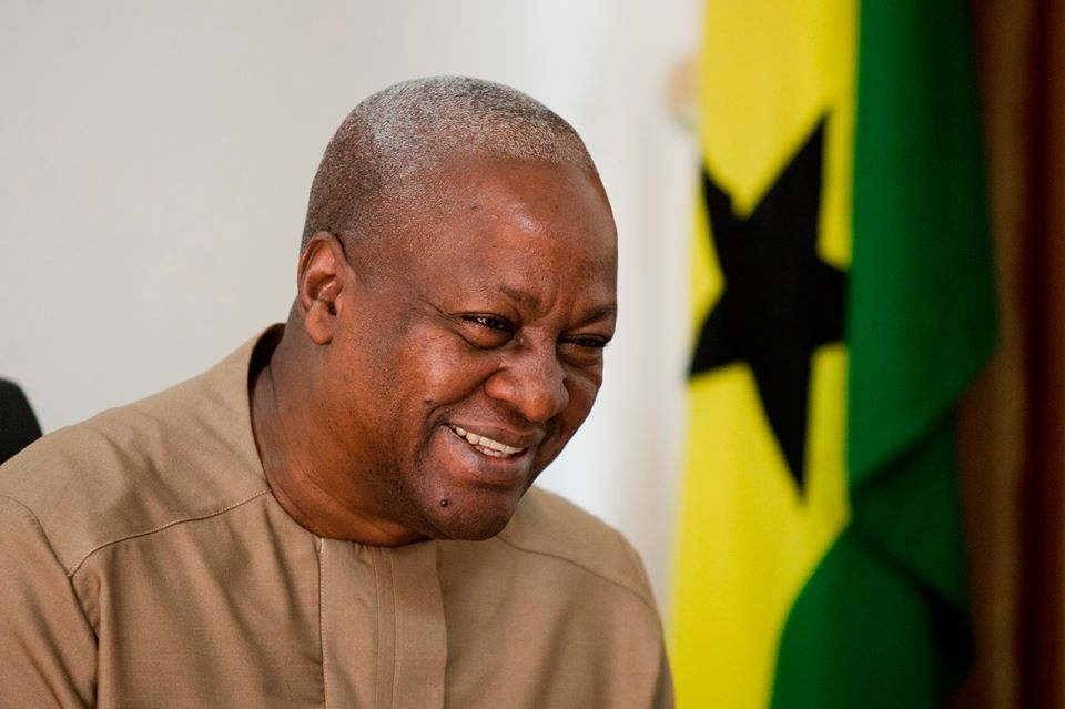 John Mahama's retirement package