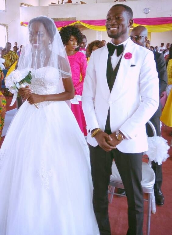 PHOTOS: eTV's Sports Presenter Ohene Bampoe Brenya Marries