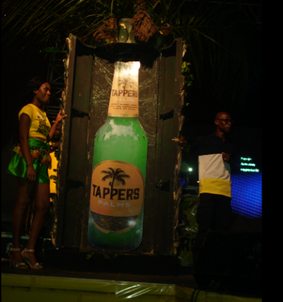 "Guinness Ghana Breweries Limited outdoors a new product ""Tappers Palms"""