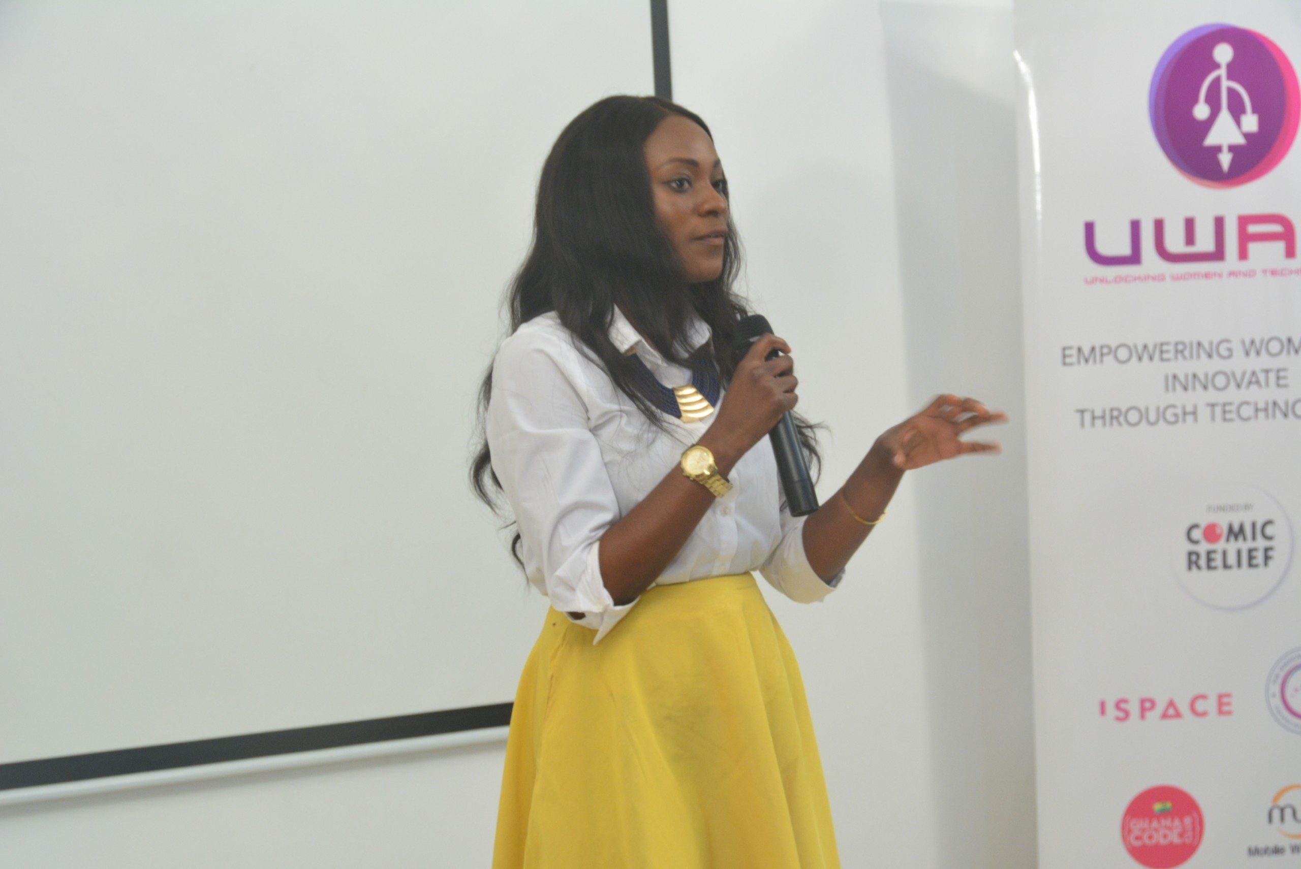 Mobile Web Ghana, Ispace Climax Unlocking Women and Technology Project In Ghana