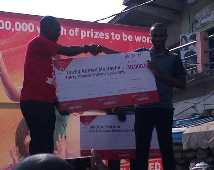 Vodafone Ghana rewards customers