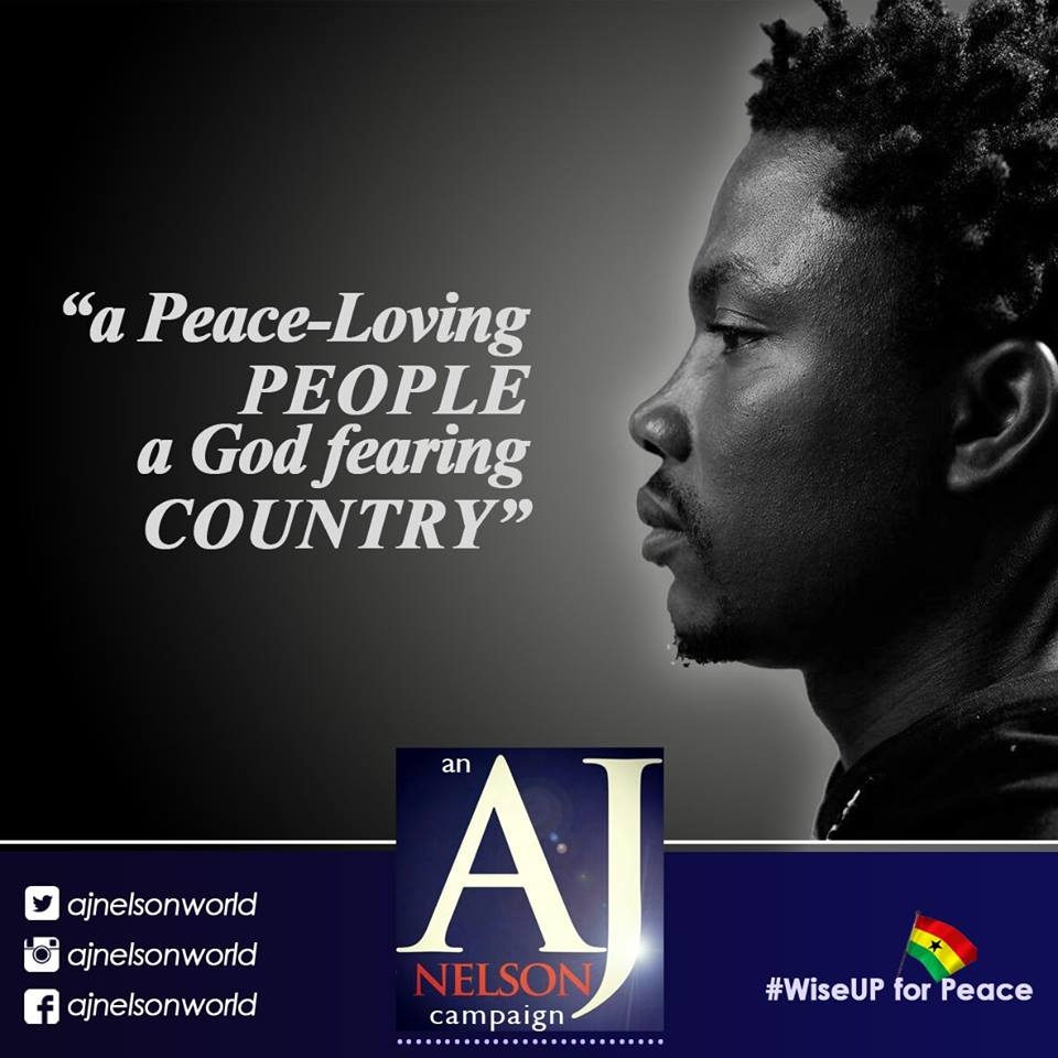 """AJ Nelson launches """"Wise Up For Peace"""" campaign"""