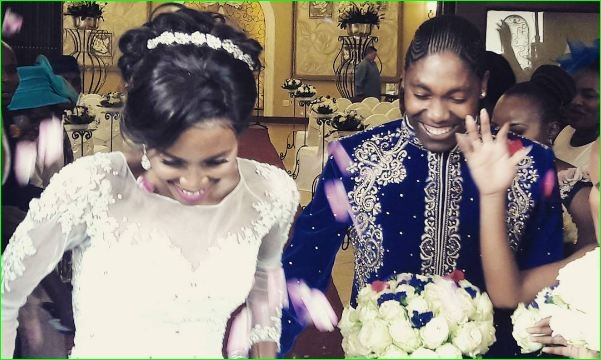 South African athlete Caster Semenya shares pics of her wedding
