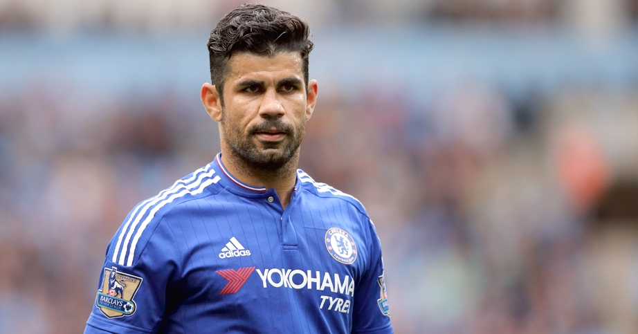 Diego Costa excluded from Chelsea's Champions League squad