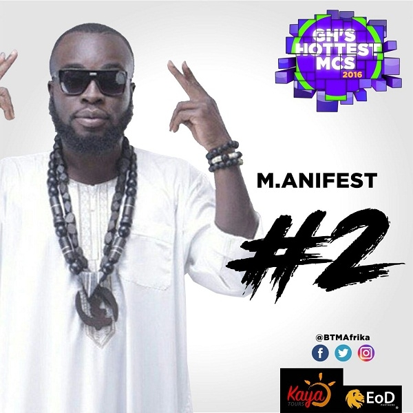 Sarkodie, M.anifest, Tee Phlow, Others Make BTM Afrika's GH Hottest MCs 2016
