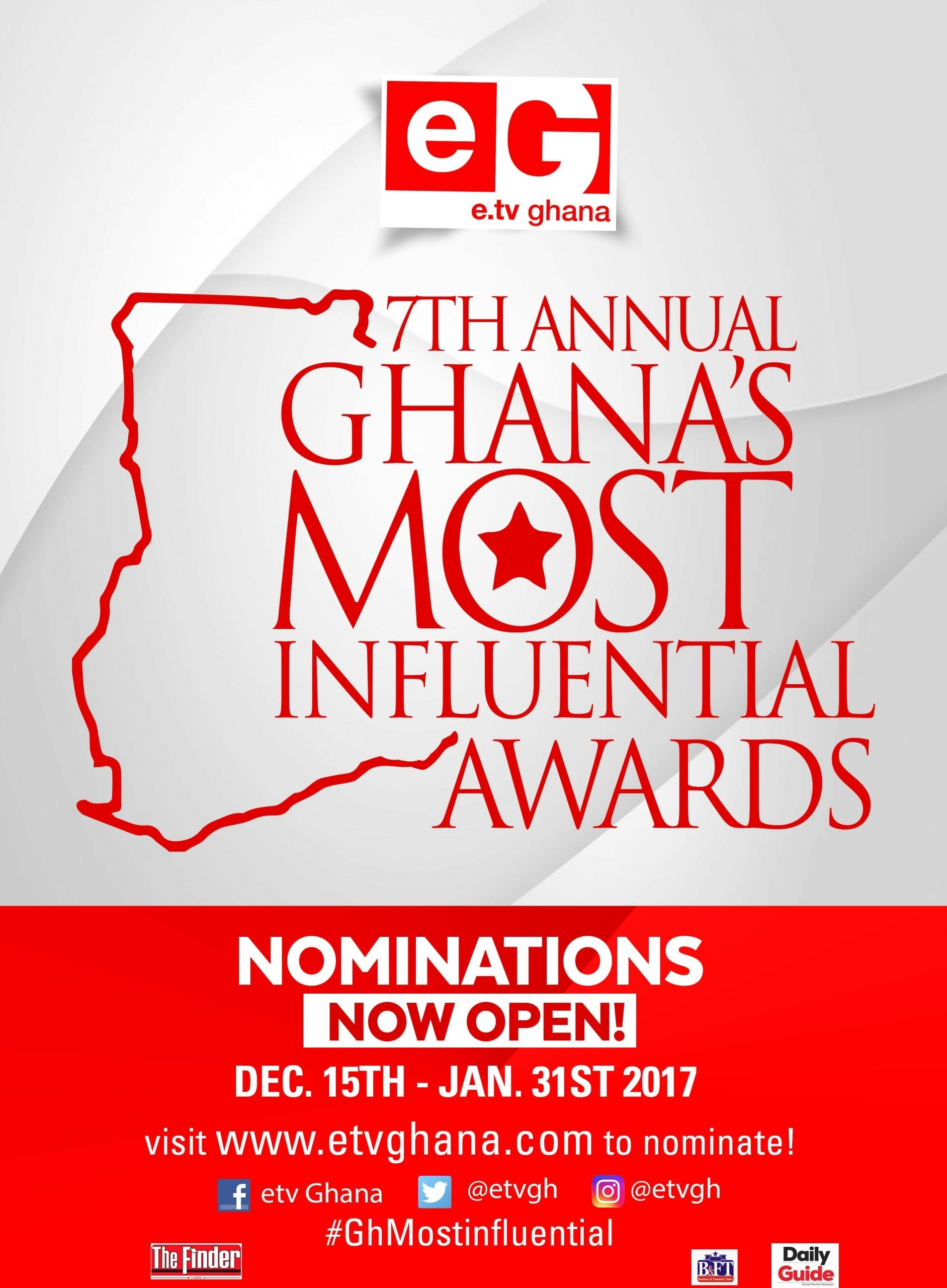 Ghanaians Choose Most Influential Personalities