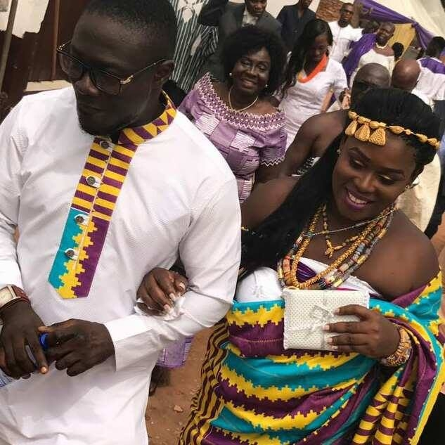 PHOTOS: YFM's 'Norkus' Nana Kwame Osei Sarpong Marries Lydia