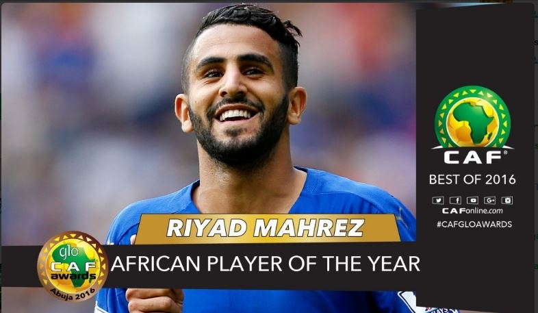 Riyad Mahrez Crowned 2016 African Player of the Year