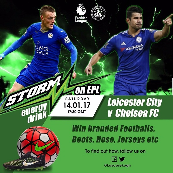 Storm Energy to reward EPL fans in Ghana