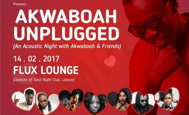 Akwaboah, others to thrill fans on Val's Day