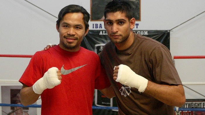 Amir Khan Set For His Biggest Fight With Manny Pacquiao