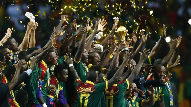 AFCON: Cameroon beats Egypt to lift African title