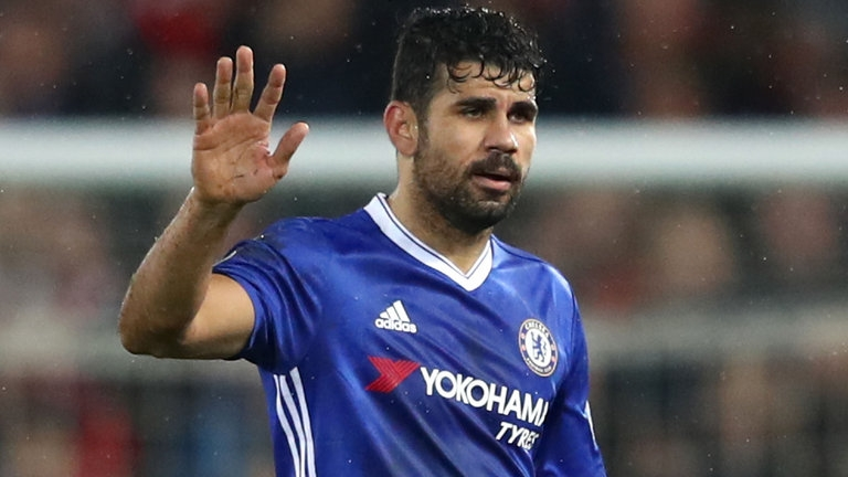 Costa signs pre-contract for China move