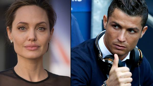Cristiano Ronaldo to appear alongside Angelina Jolie In TV Series