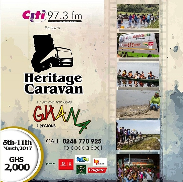 Citi FM's exciting Heritage Caravan set to hit the road