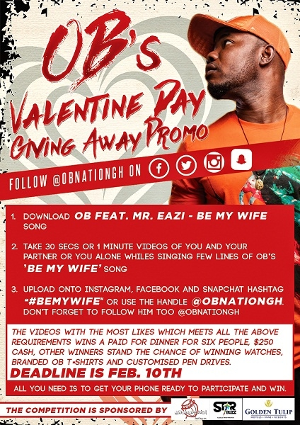 OB to dine with fans on Valentine Day