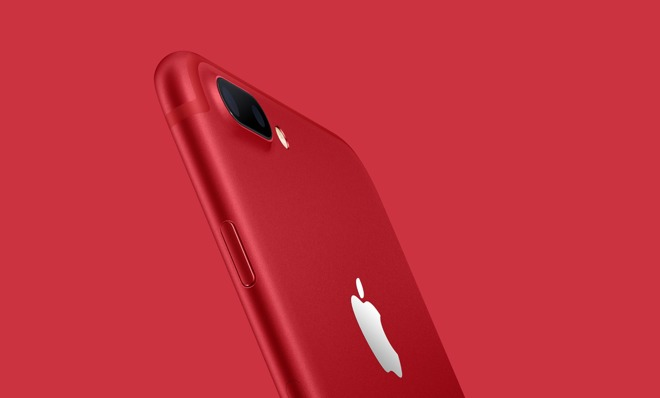 Apple launches special edition (Product)Red iPhone 7