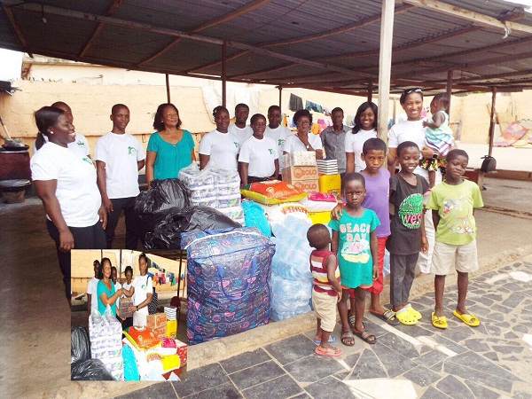 PHOTOS: Eastgate Hotel donates GHC 2000 to the Chosen Rehab Orphanage