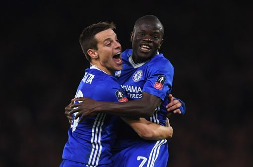 N'Golo Kante sends Blues to FA Cup semi-finals