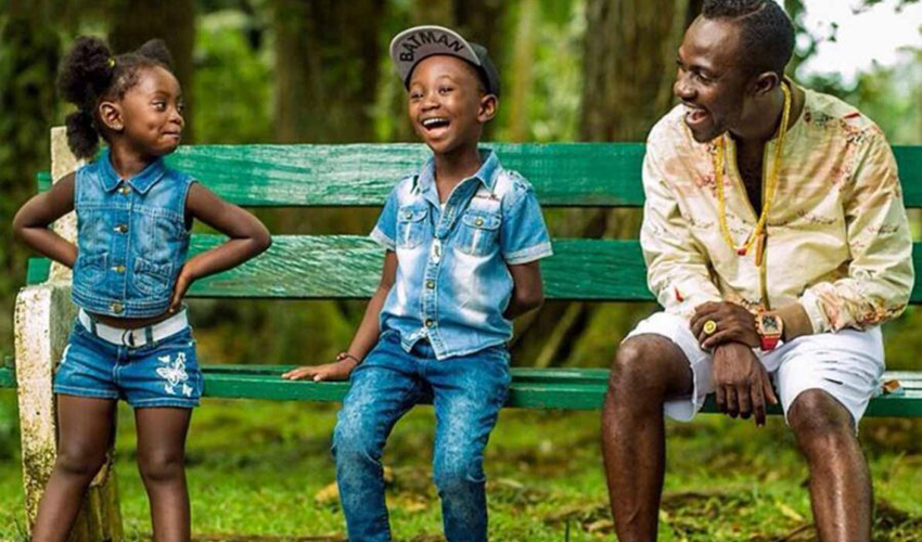 Okyeame Kwame Comments on Claims That His Son Can Rap Better Than D Black