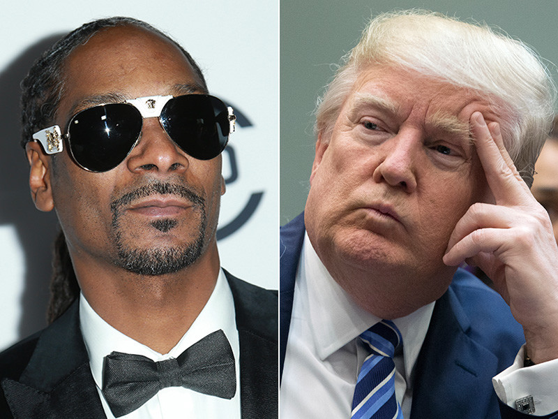 Donald Trump Comes At Snoop Dogg After Mock Assassination Video