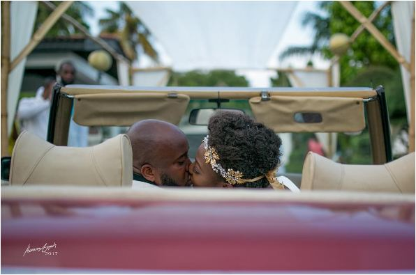 12 Stunning PHOTOS From Trigmatic and Dita Schandorf's Wedding Ceremony