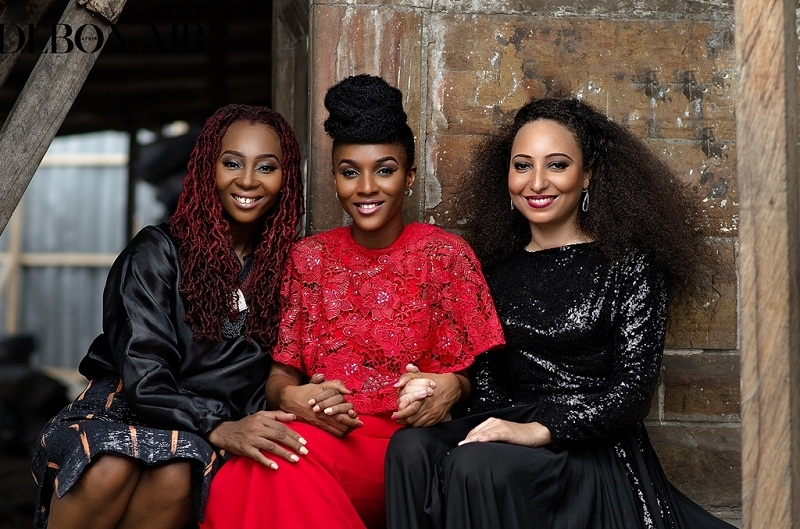 "Debonair Afrik features Makeba Boateng, Stefania Manfreda and Faith Senam Ocloo in ""The Women Issue"""