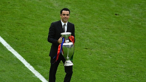 'Becoming Barcelona coach is my dream' - Xavi