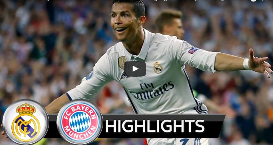 Extended Highlights: Real Madrid vs Bayern Munich 4-2 - All Goals