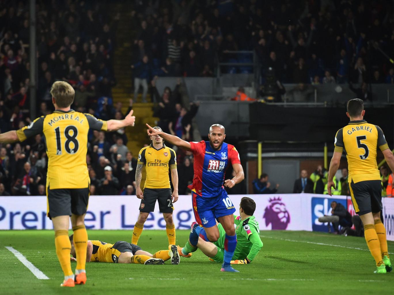 Back to square one for Arsene Wenger as Crystal Palace storm past lifeless and dysfunctional Arsenal