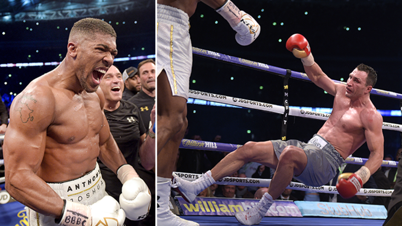 Anthony Joshua And Wladimir Klitschko Rematch Pencilled In For October Cardiff Date