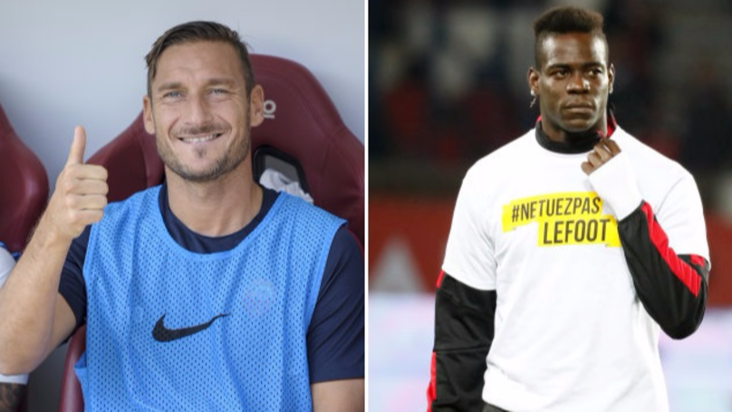 Ridiculous Rumour Makes Francesco Totti And Mario Balotelli Teammates Next Season