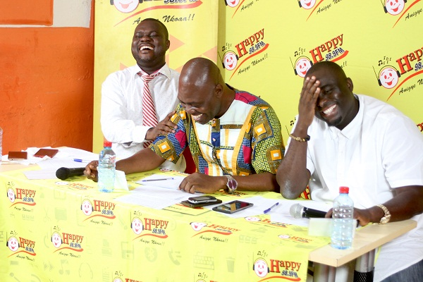 Accra Turns Up For Happy FM's 'Agorohene' Auditions