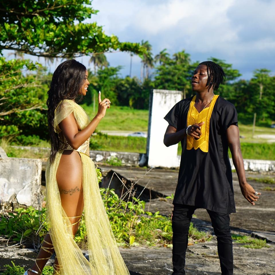 Stonebwoy has shot 2 videos with Khalia in Jamaica