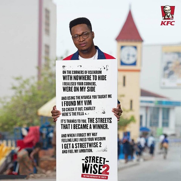"Ko-Jo Cue pens new deal with KFC to lead ""Streetwise 2"" campaign"