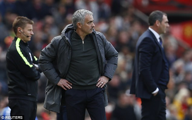 Manchester United to play youth side against Crystal Palace - Jose Mourinho