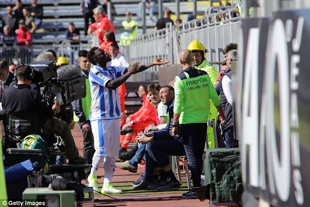 United Nations' top human rights official hails Sulley Muntari