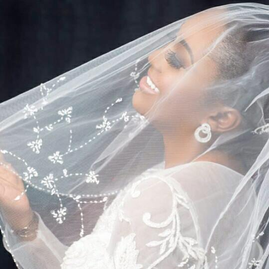 PHOTOS: Sarkodie's fiancee Tracy SarkCess spotted in bridal gown