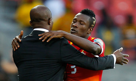 Asamoah Gyan retained as Ghana captain under returning coach Kwesi Appiah, Andre deputy