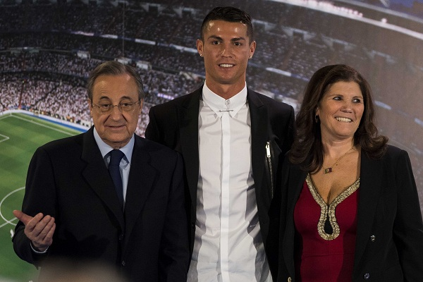 Florentino Perez Reacts To Cristiano Ronaldo Wanting To Leave Real Madrid