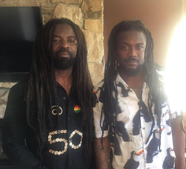 Samini and Rocky Dawuni safely in Seattle for Madaraka Festival 2017