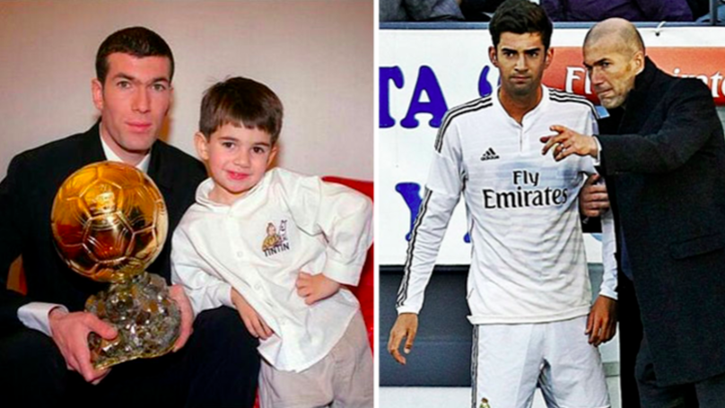 Zinedine Zidane's Son Enzo Ready To Secure Move Away From Real Madrid