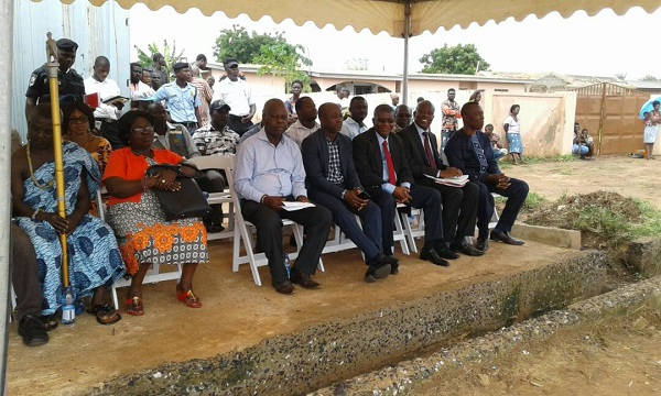 Chase Petroleum Builds Magistrate Court and Library For Kpone Traditional Area