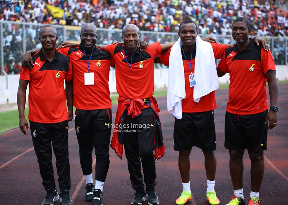 Black Stars coach Kwesi Appiah Weighs In On Gyan's Customized Captain's armband
